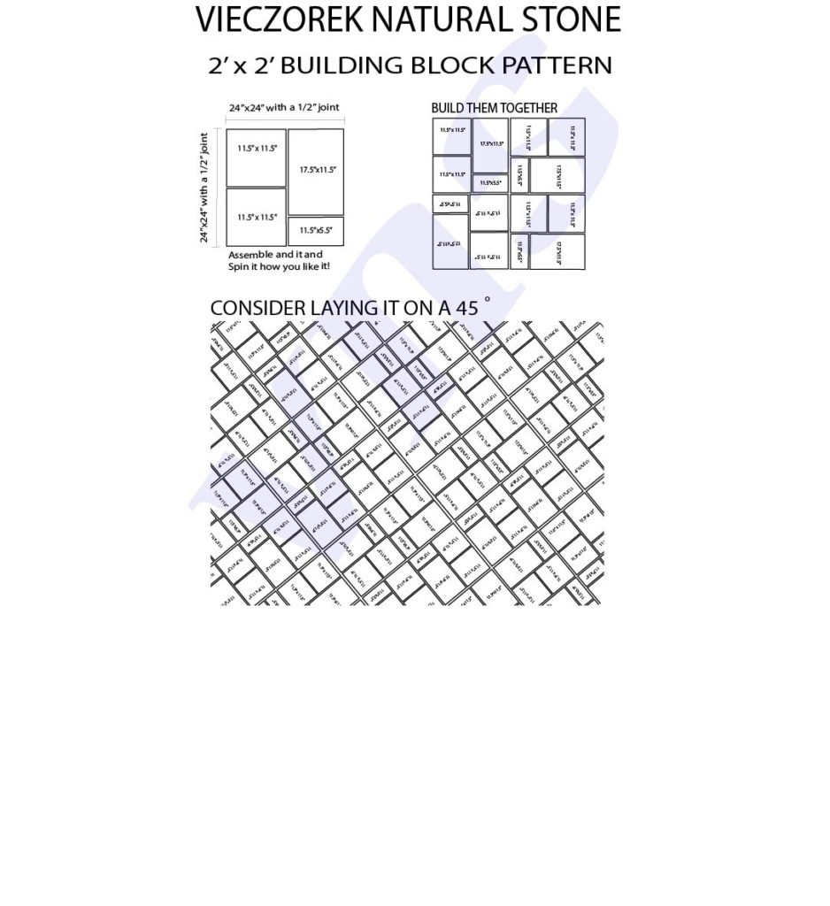 Bluestone Pattern